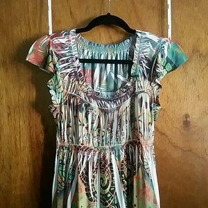 One world maxi dress